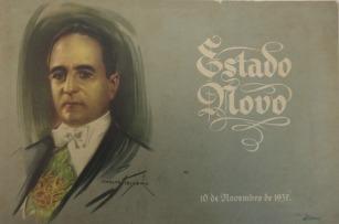 Folheto elaborado pelo Departamento Nacional da Propaganda com a explicação da doutrina do Estado Novo. (Rio de Janeiro, 1937). Coleção José Olympio.